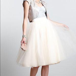 Anthropologie Alexandra Greco Ballerina Skirt